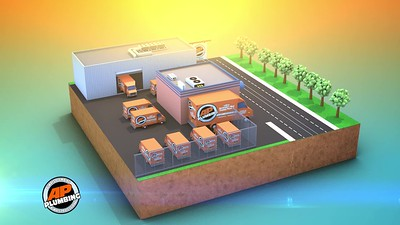 AP Plumbing: Everywhere Services Provided:  3D Rendering, Motion Graphics, Editing