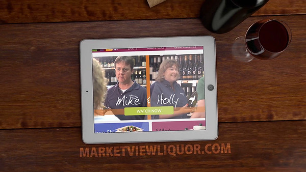 Marketview Liquor: Mike and Holly Promo Services Provided: Shooting, Motion Graphics, Editing