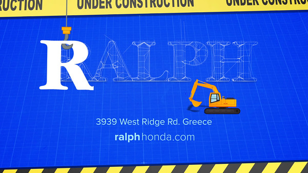 Ralph Honda Under Construction 15 Services Provided: Editing and Motion GFX