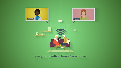 University of Rochester Covid Redesigned Telemedicine Services Provided:  3D Rendering, Motion Graphics, Editing