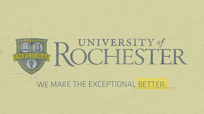 University of Rochester: Exceptional Services Provided:  Motion Graphics, Editing