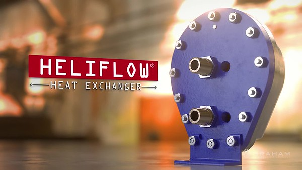 Graham Corporation. Product: Heliflow Services Provided:  3D Rendering, Motion Graphics, Editing