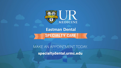 University of Rochester: Eastman Dental Specialty Care Services Provided:  Motion Graphics, Editing