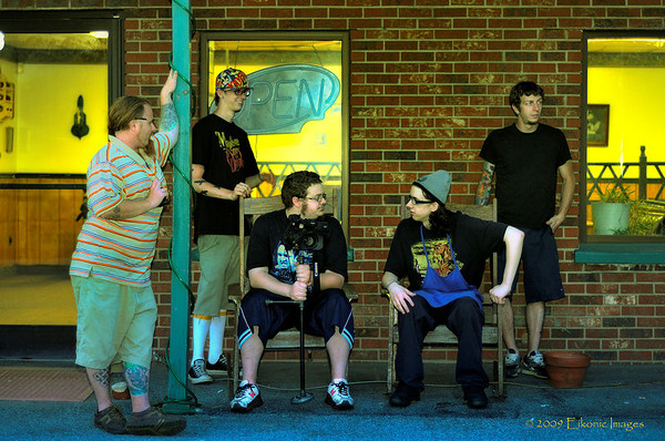 Murder Squad<br /> <br /> From left: Dylan Crouch, Jason Underwood, Jeremy Underwood, Jordan Underwood, Heath Snyder