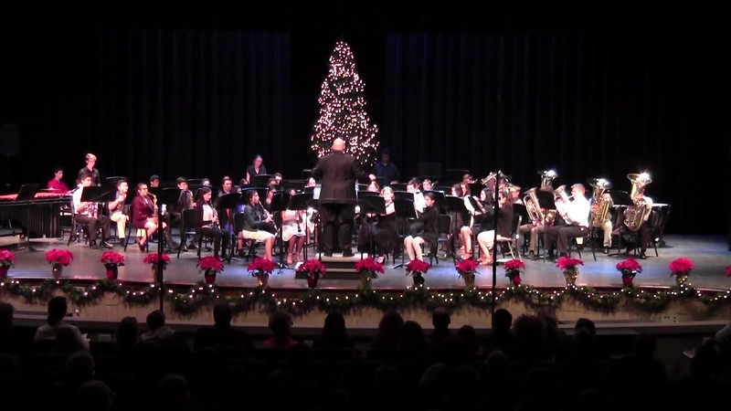 """""""Merry Christmas, Darling"""" - College Station HS Concert Band"""