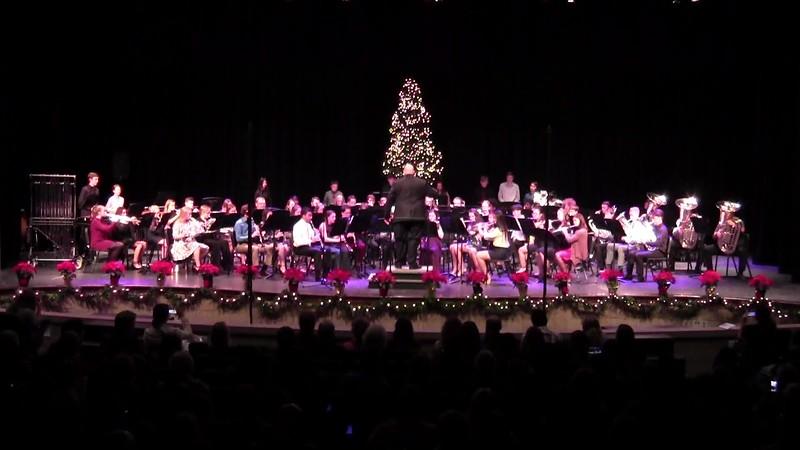 """Sleigh Ride"" - College Station HS Wind Ensemble"