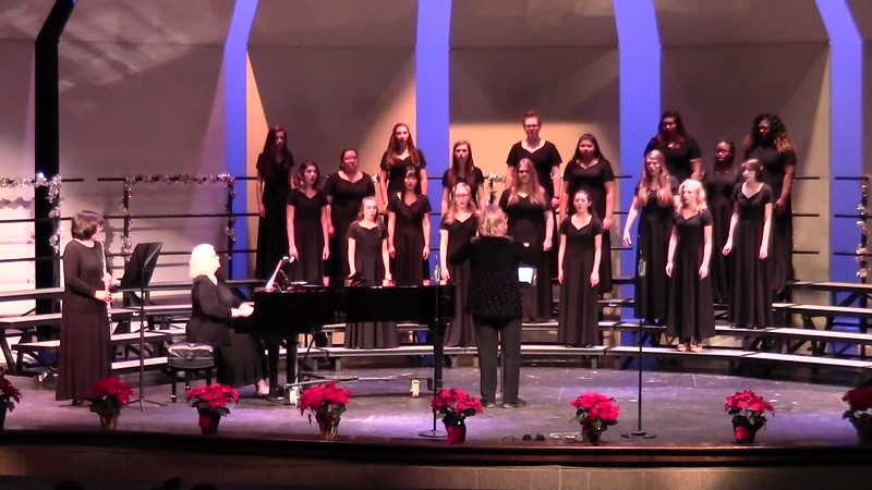 """Petit Enfant"" - College Station HS JV Women's Choir 12/08/2016"