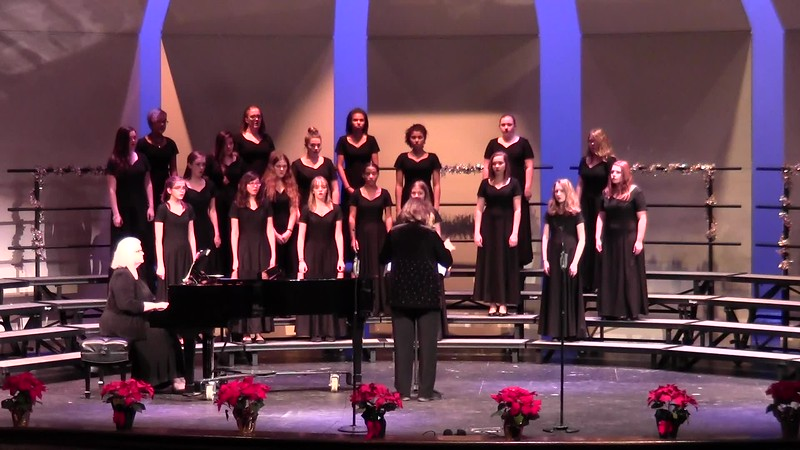"""How Brightly Shines the Morning Star"" - College Station HS Concert Women's Choir 12/08/2016"