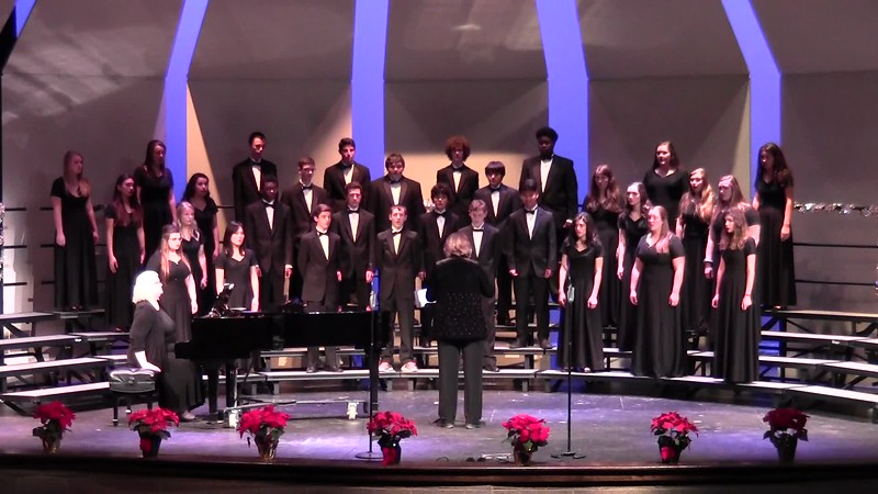 """Coventry Carol"" - College Station HS Chorale 12/08/2016"