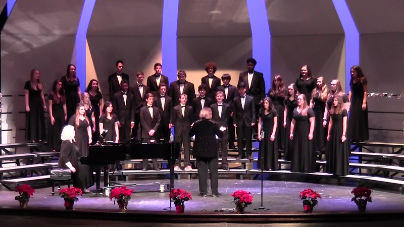 """Carol of the Bells"" - College Station HS Chorale 12/08/2016"