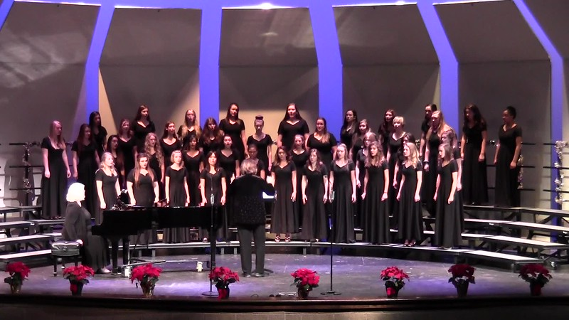 """S'vivon"" - College Station HS Chorale Women & Varsity Women's Choir 12/08/2016"