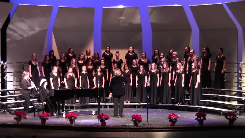 """Silent, Holy Night"" - College Station HS Chorale Women & Varsity Women's Choir 12/08/2016"