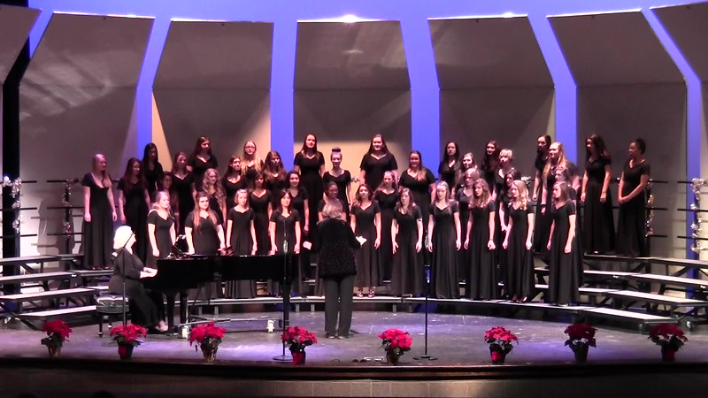 """Go Where I Send Thee!"" - College Station HS Chorale Women & Varsity Women's Choir 12/08/2016"