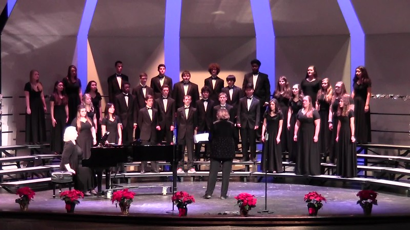 """Rise Up!"" - College Station HS Chorale 12/08/2016"