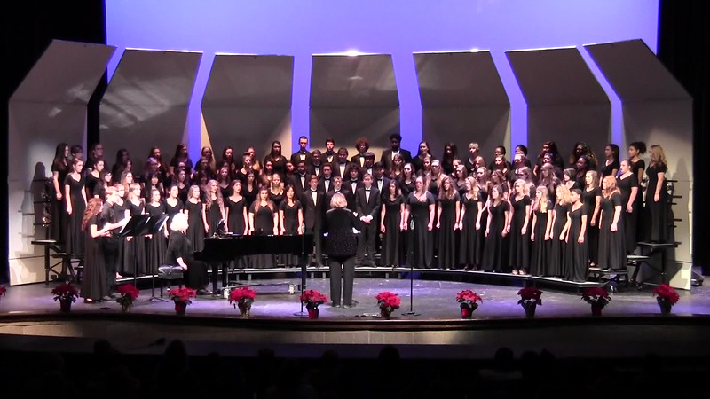"""Personent Hodie"" - College Station HS Choirs 12/08/2016"