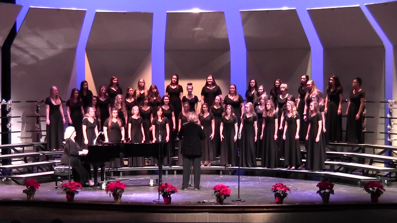 """Jingle Bells"" - College Station HS Chorale Women & Varsity Women's Choir 12/08/2016"