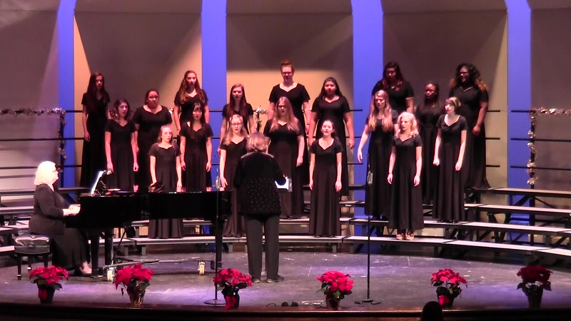 """Hodie"" - College Station HS JV Women's Choir 12/08/2016"