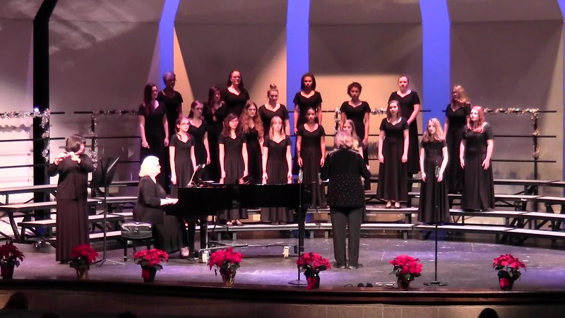 """Noel, Noel"" - College Station HS Concert Women's Choir 12/08/2016"