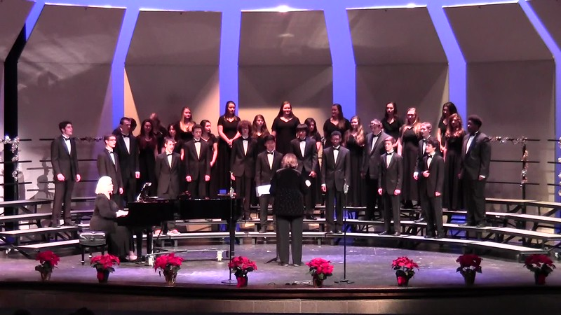 """Mary, Mary"" - College Station HS Chorale Men 12/08/2016"