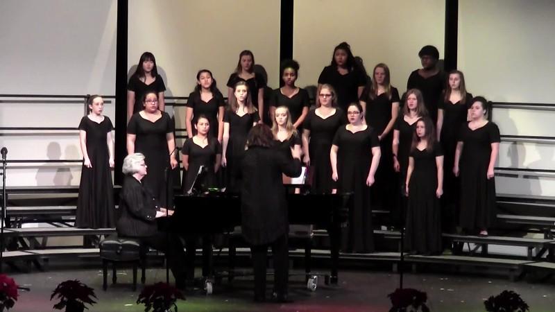 """""""A la nanita nana"""" - College Station HS Concert Women's Choir 12/11/2015"""