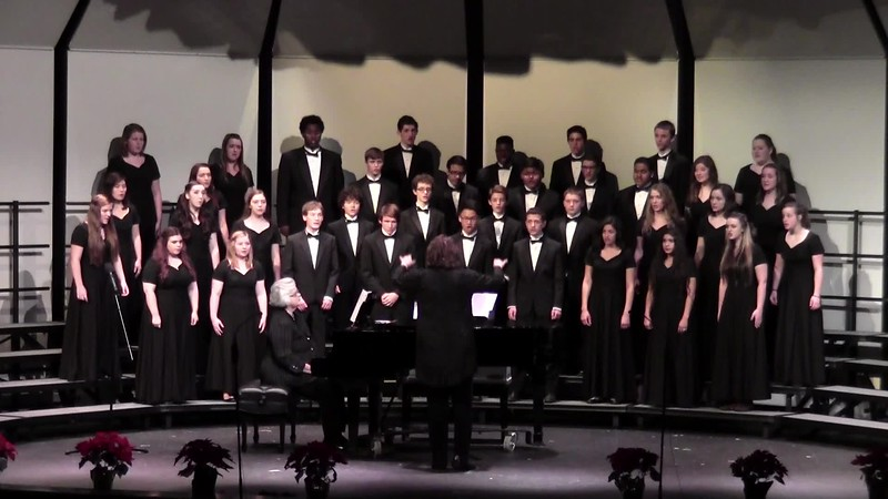"""""""Carol of the Bells"""" - College Station HS Chorale 12/11/2015"""