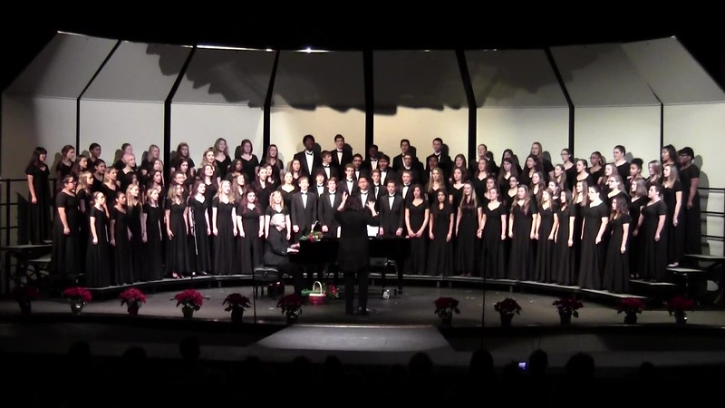 """""""Sing We Now of Christmas"""" - College Station HS Choirs 12/11/2015"""