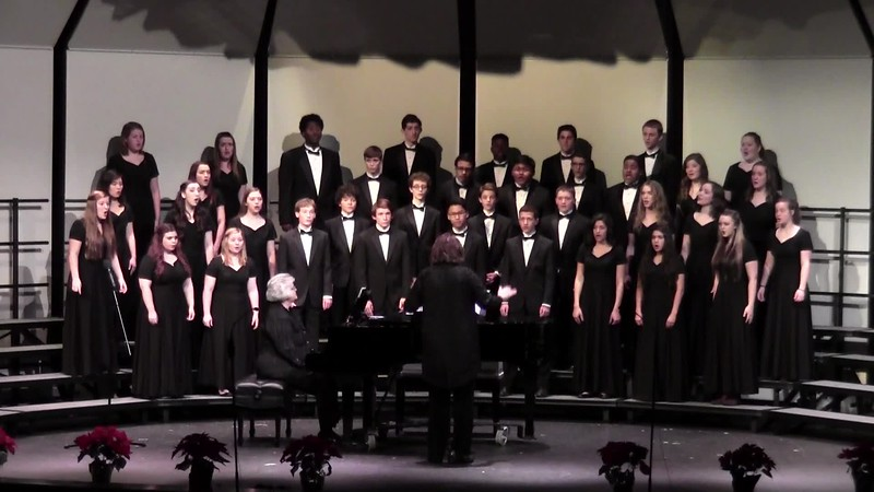 """God Rest You Merry Gentlemen"" - College Station HS Chorale 12/11/2015"