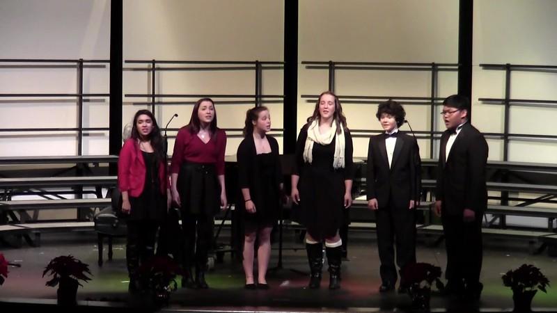 """""""Fum, Fum Fantasy"""" - College Station HS Choir Dynamaniacs 12/11/2015"""