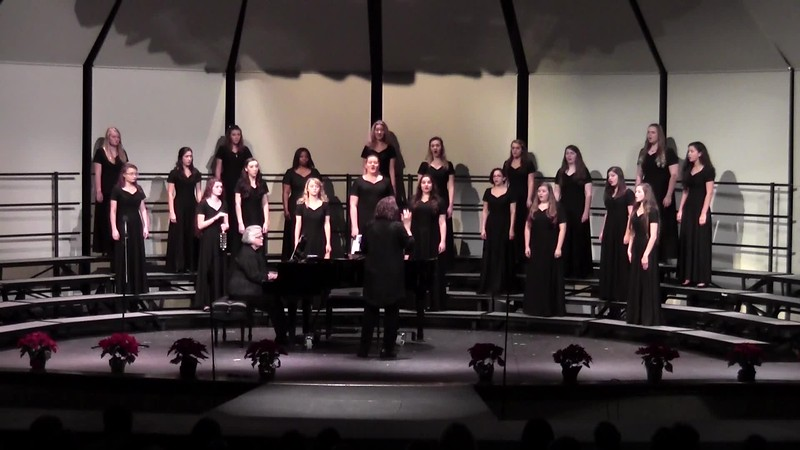 """Sleigh Ride"" - College Station HS Varsity Women's Choir 12/11/2015"