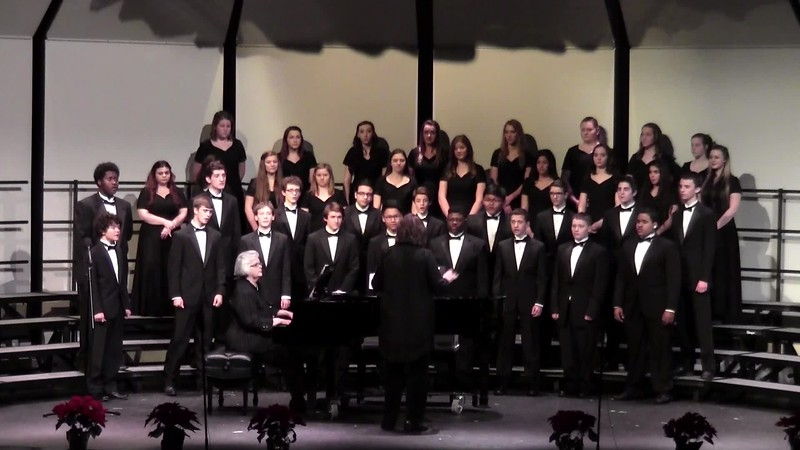 """""""Go Tell It On the Mountain"""" - College Station HS Men's Chorale 12/11/2015"""