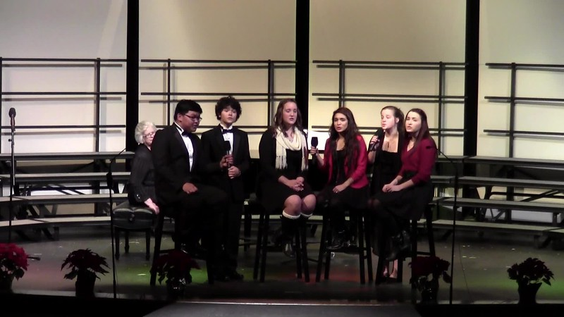 """""""That's Christmas to Me"""" - College Station HS Choir Dynamaniacs 12/11/2015"""