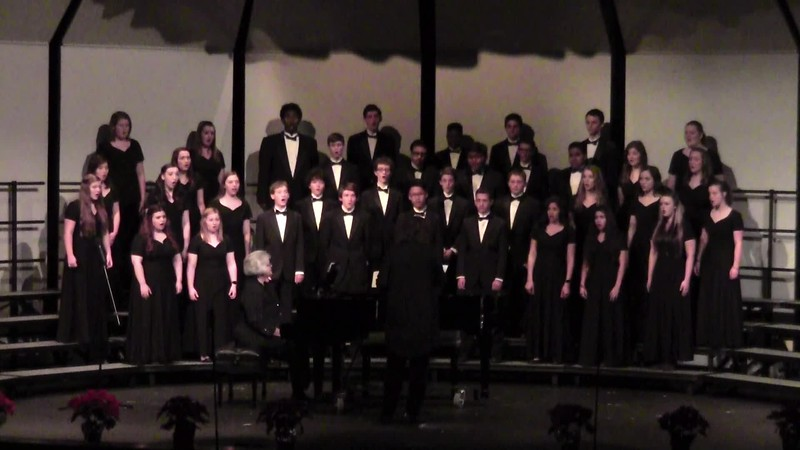 """""""Silent Night"""" - College Station HS Chorale 12/11/2015"""