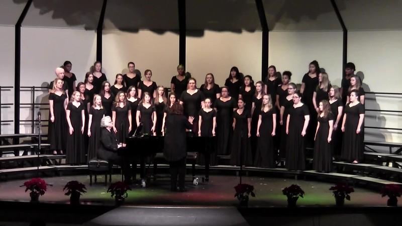 """Gloria!"" - College Station HS Concert & JV Women's Choir 12/11/2015"