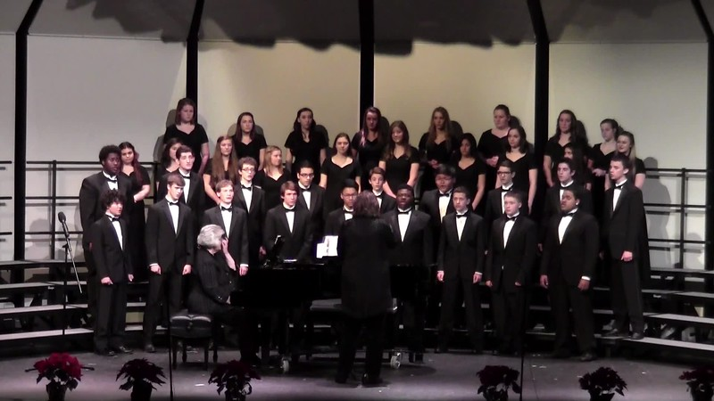 """""""Here We Come A Wassailin' """" - College Station HS Men's Chorale 12/11/2015"""