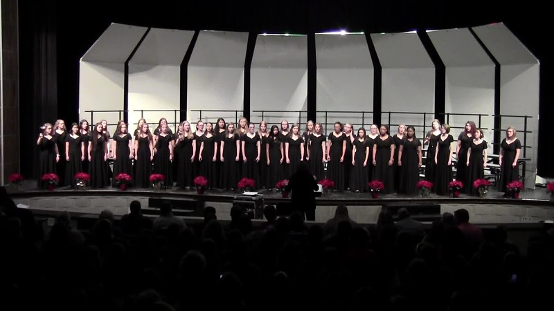 """Alleluia, Rejoice!"" - College Station HS Varsity & Chorale Women Choirs 12/14/2018"