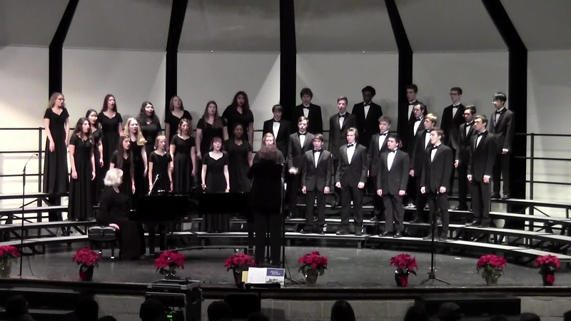 """Angels We Have Heard on High"" - College Station HS Chorale 12/14/2018"