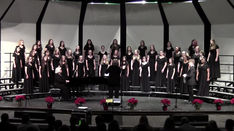 """Jing-a-Ling, Jing-a-Ling"" - College Station HS Varsity & Chorale Women Choirs 12/14/2018"
