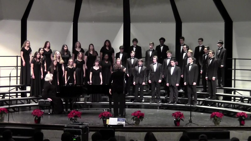 """Throw the Yule Long On, Uncle John"" - College Station HS Chorale 12/14/2018"