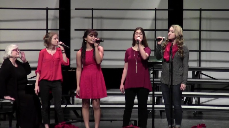 """Silver Bells"" - College Station HS One Voice 12/14/2018"