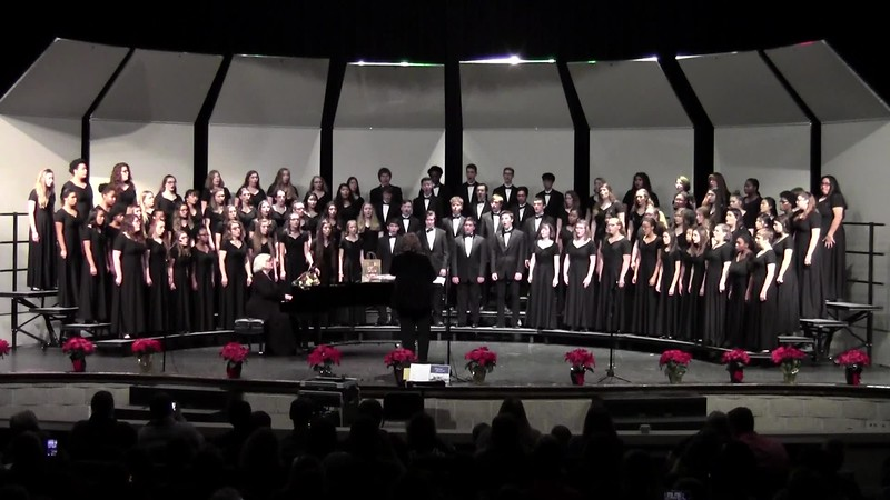 """Holy Night/Silent Night"" - College Station HS Choirs 12/14/2018"