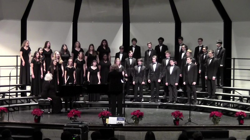 """Carol of the Bells"" - College Station HS Chorale 12/14/2018"