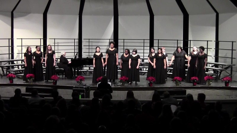 """Santa, Bring My Baby Back (to Me) - College Station HS Concert Choir 12/14/2018"