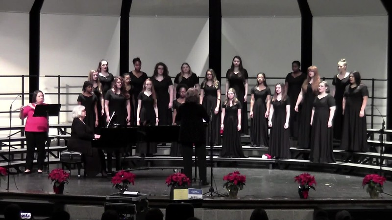 """Ave Maria"" - College Station HS JV Choir 12/14/2018"