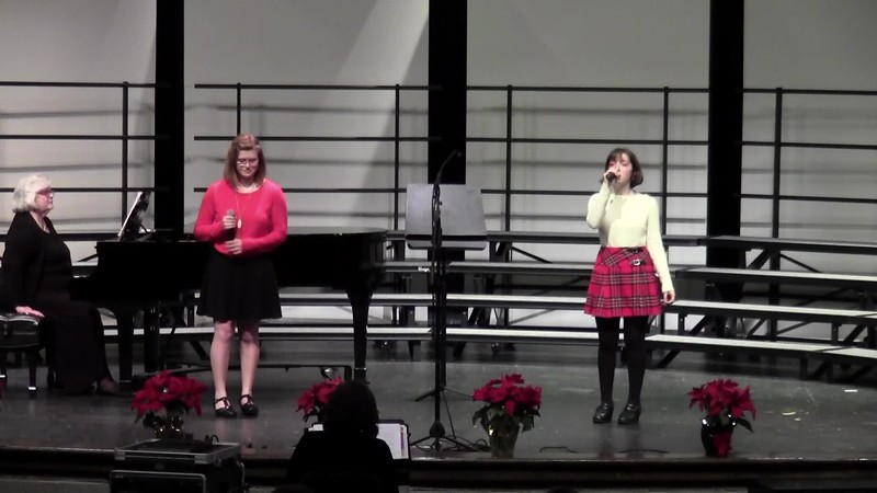 """What Child is This?"" (First Noel Prelude) - College Station HS Choir Soloists 12/14/2018"