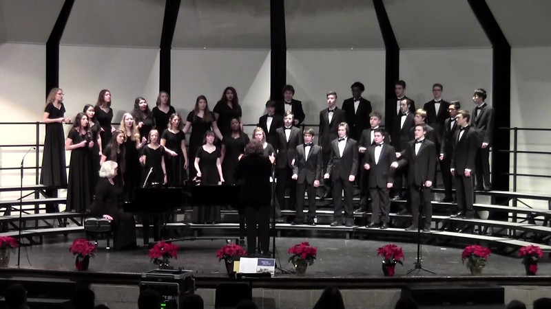 """Go, Tell it on the Mountain"" - College Station HS Chorale 12/14/2018"