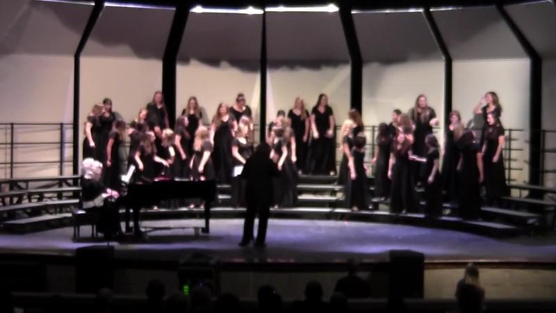 "College Station HS Chorale Women & Varsity Women's Choir - ""La Danza"" 10/24/2017"
