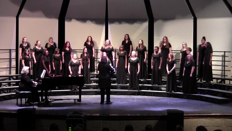 """College Station HS Concert Women's Choir - """"Who Can Sail?"""" 10/24/2017"""