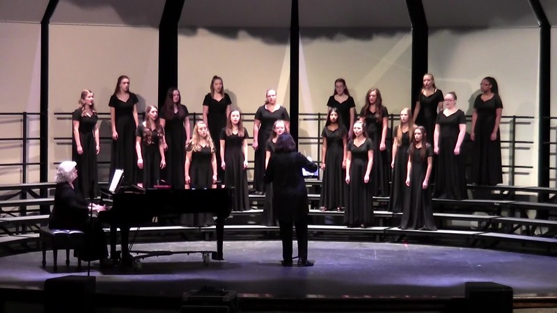 """College Station HS JV Women's Choir - """"Will There Really Be a Morning?'"""" 10/24/2017"""