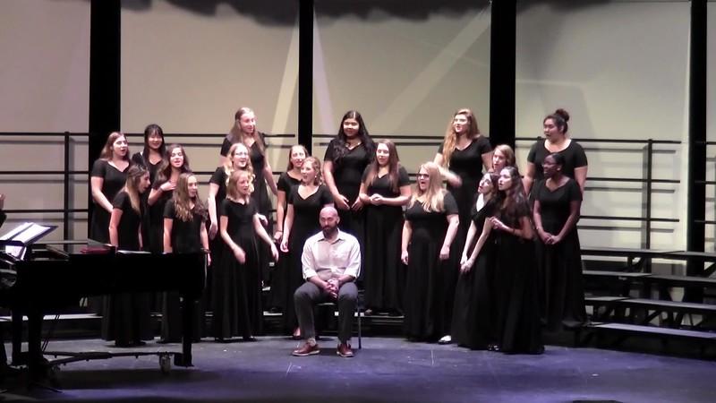 "College Station HS Varsity Women's Choir - ""Dear John, Dear John"" 10/24/2017"