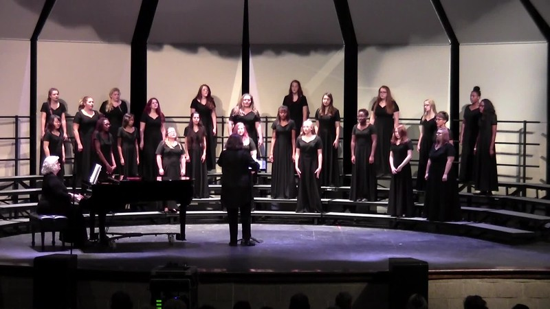 """College Station HS Concert Women's Choir - """"Come to Me, O My Love"""" 10/24/2017"""